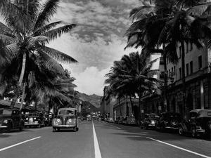 Street in Honolulu, Hawaii
