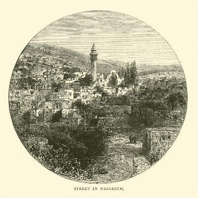 Street in Nazareth--Giclee Print