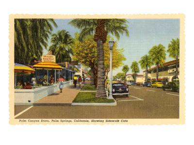 Street in Palm Springs, California--Art Print