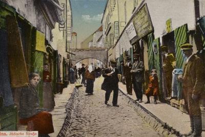 Street in the Jewish Quarter, Vilnius--Photographic Print