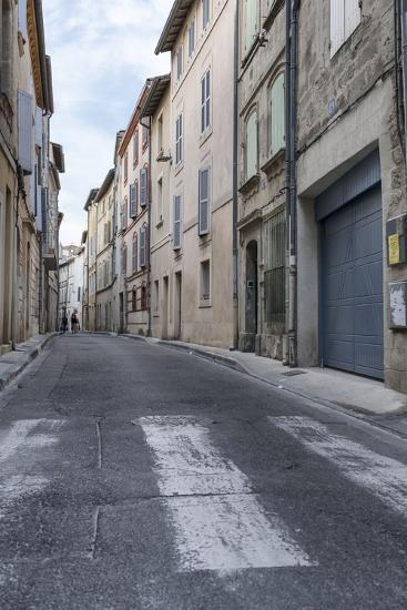Street in the Old Town of Avignon, Vaucluse, Provence, France,-Bernd Wittelsbach-Photographic Print