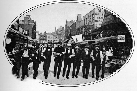 Street melody, London, c1901 (1901)-Unknown-Photographic Print