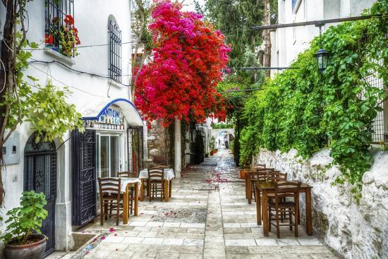 Street of Bodrum-Nejdet Duzen-Photographic Print