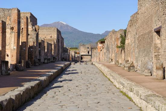 Street of Pompeii-JIPEN-Photographic Print