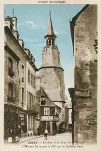 Street of the Clock Tower, Dinan, Brittany