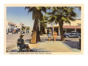 Street, Palm Springs, California