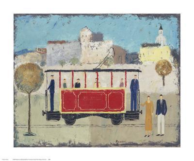 Street Railway-Gia Revazi-Art Print