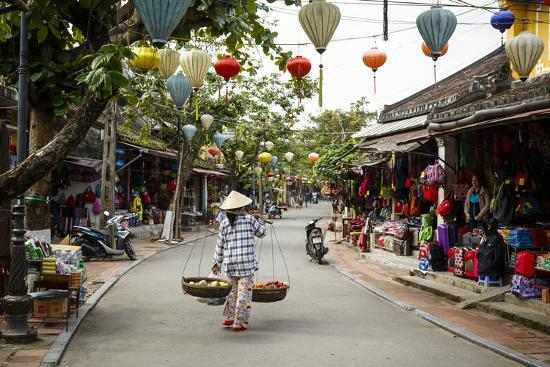 Street Scene, Hoi An, Vietnam, Indochina, Southeast Asia, Asia-Yadid Levy-Photographic Print