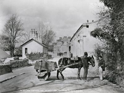 Street Scene in Rostrevor, County Down, Ireland, C.1895-Robert John Welch-Giclee Print