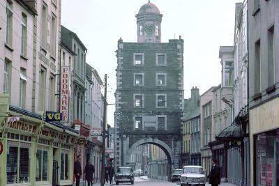 Street Scene in Youghal, County Cork, Ireland-CM Dixon-Photographic Print