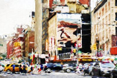 Street Scene IV - In the Style of Oil Painting-Philippe Hugonnard-Giclee Print