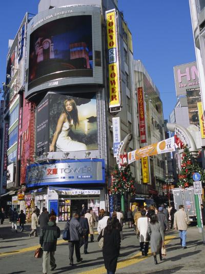 Street Scene, Shinjuku, Tokyo, Japan-Christian Kober-Photographic Print