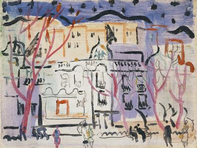 Street Scene, South of France-Christopher Wood-Giclee Print