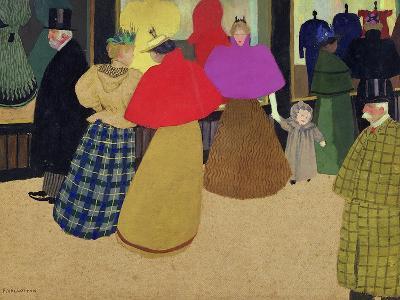 Street Scene-F?lix Vallotton-Giclee Print