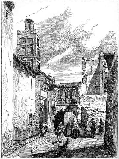 Street View in Tlemcen, Algeria, C1890--Giclee Print