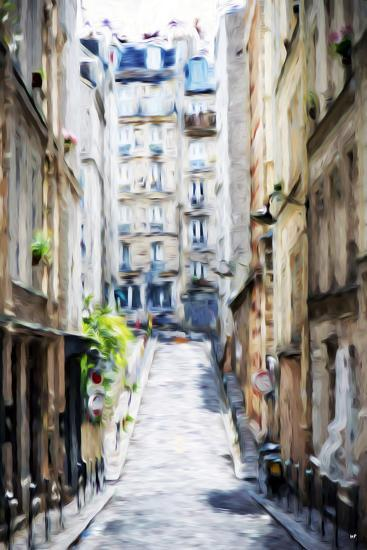 Street Windows - In the Style of Oil Painting-Philippe Hugonnard-Giclee Print