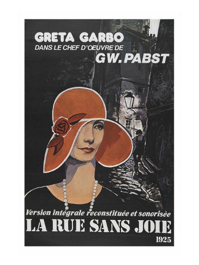 "Street Without Joy ""La Rue Sans Joie""--Art Print"