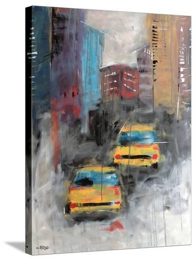 Street-Annie Rodrigue-Stretched Canvas Print