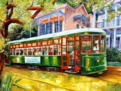Streetcar in New Orleans-Diane Millsap-Art Print
