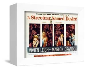Streetcar Named Desire, Vivien Leigh, Marlon Brando, Kim Hunter, Karl Malden, 1951