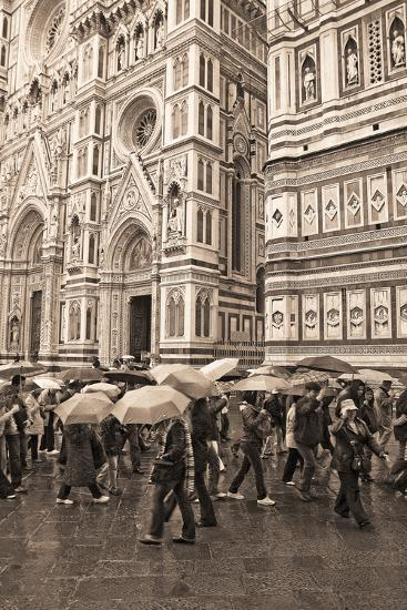 Streets of Florence I-Rita Crane-Photographic Print