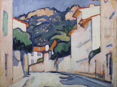 Streetscene, Cassis, C.1913-Samuel John Peploe-Giclee Print