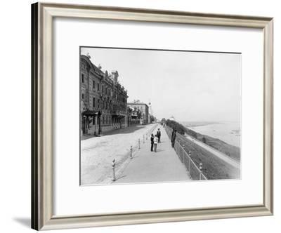 Strelka, Confluence of the Volga and Oka Rivers, Nizhny Novgorod, Russia, 1896-Maxim Dmitriev-Framed Giclee Print