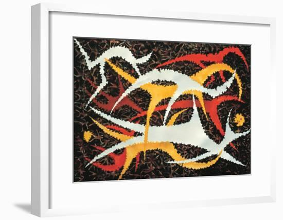 Strength and Beauty-Chuankuei Hung-Framed Giclee Print