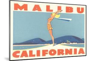 Stretching Girl, Malibu, California