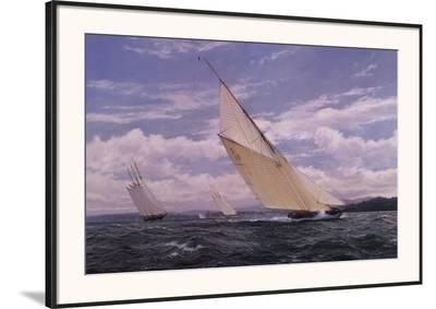 Stretching Out the Lead-Steven Dews-Framed Art Print