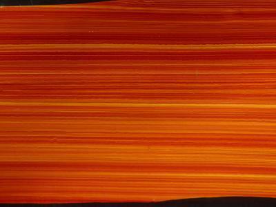 Striated Orange Background--Photographic Print