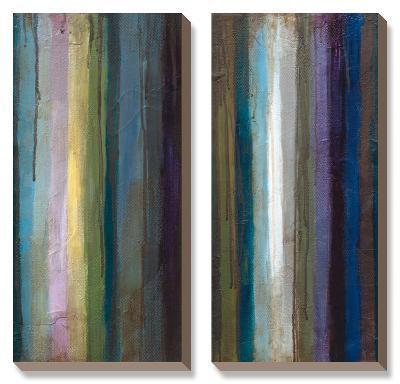 Striations II-Wani Pasion-Canvas Art Set