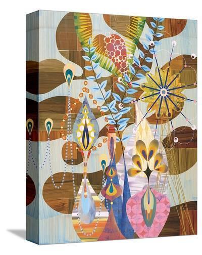 Strigosa-Rex Ray-Stretched Canvas Print