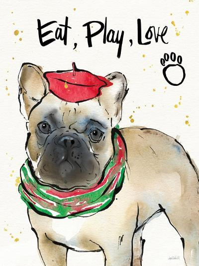 Strike a Paws VI Christmas-Anne Tavoletti-Art Print