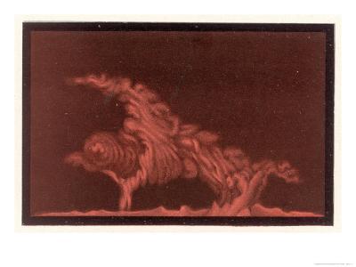 Striking Display of Solar Flares-Littrow Wunder-Giclee Print