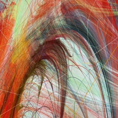 String Tile II-James Burghardt-Art Print