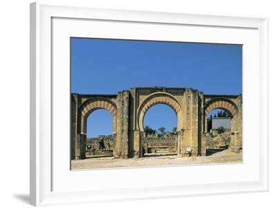 Strings of Building--Framed Giclee Print