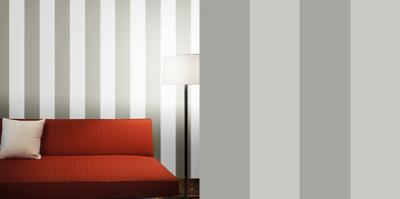 Stripe Dove Grey Self-Adhesive Wallpaper