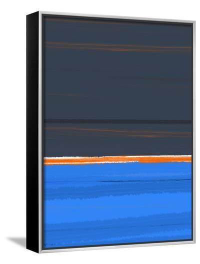 Stripe Orange-NaxArt-Framed Canvas Print