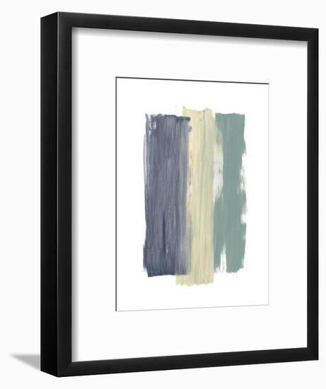 Striped Abstract-Bronwyn Baker-Framed Art Print