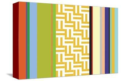 Striped Key-Dan Bleier-Stretched Canvas Print
