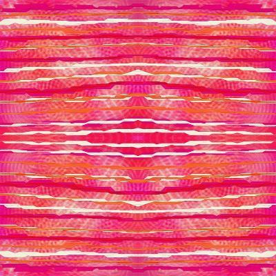 Striped Raspberries-Deanna Tolliver-Giclee Print