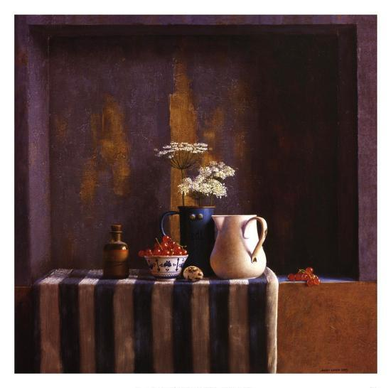 Striped Still Life II-Julien Landa-Art Print
