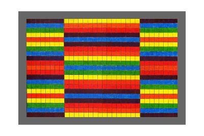 Striped Triptych, 2009-Peter McClure-Giclee Print