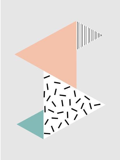 Stripes-Nanamia Design-Art Print