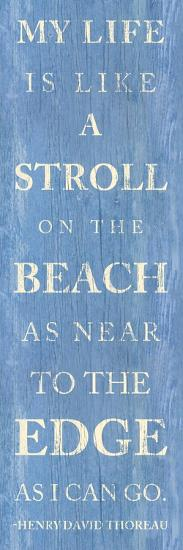 Stroll on the Beach--Premium Giclee Print