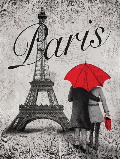 Strolling Paris I-Todd Williams-Art Print