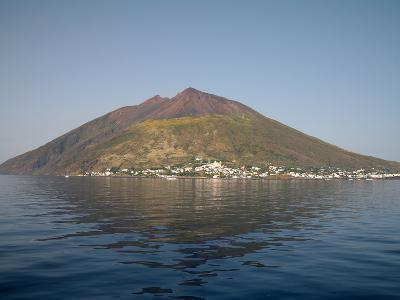 Stromboli Volcano, Aeolian Islands, Mediterranean Sea, Italy-Stocktrek Images-Photographic Print