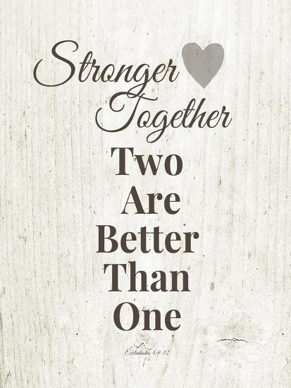 Stronger Together-Linda Woods-Art Print