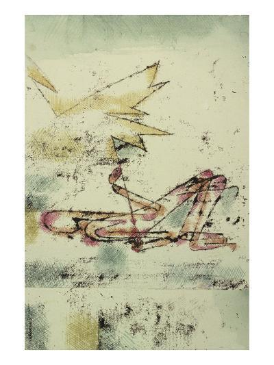 Struck by Lightning; Blitzschlag-Paul Klee-Giclee Print